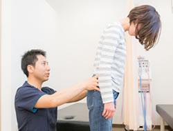足のしびれ検査