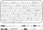伊勢崎市 アロマテラピー 36歳 女性 S.Eさん